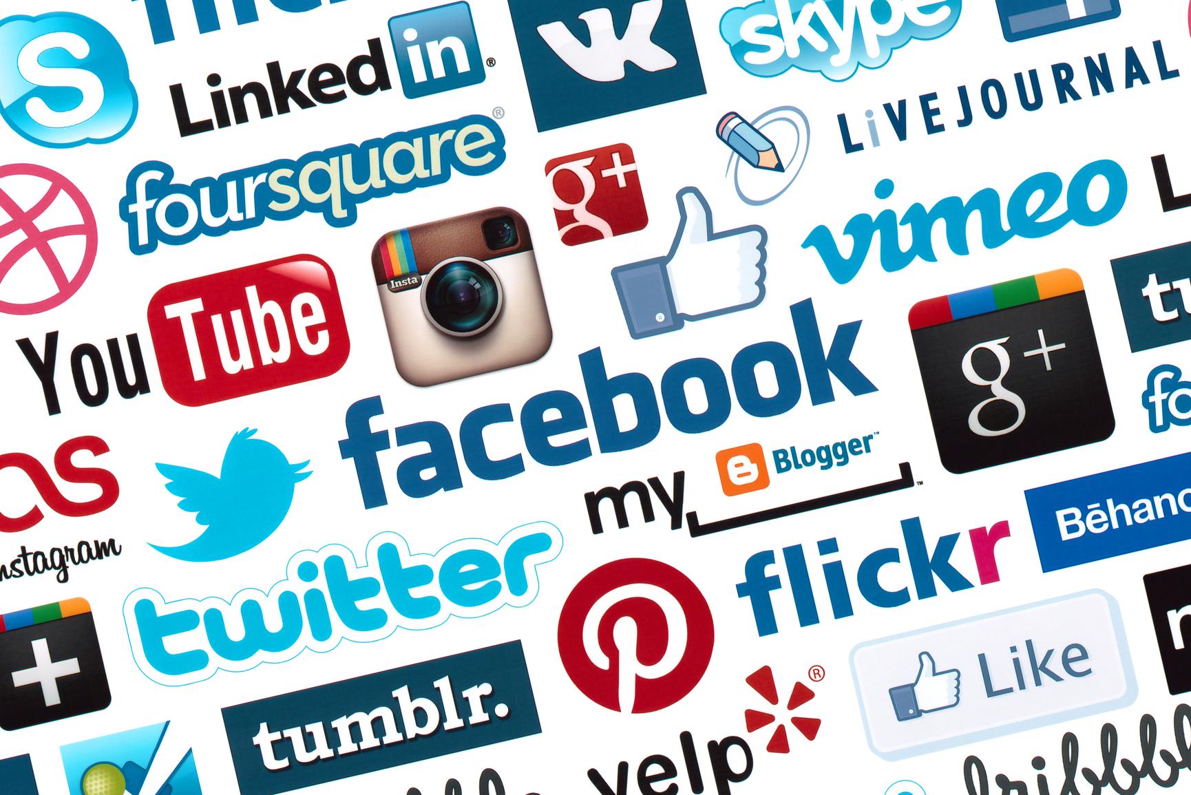 Faqe dhe profile ne rrjete te tjera sociale