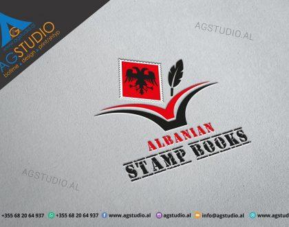 LOGO ALBANIAN STAMPBOOKS